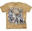 TEE SHIRT LIONS TROUVEZ 12 TIGRES BLANCS