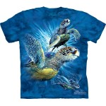 TEE SHIRT TORTUES TROUVEZ 9 TORTUES