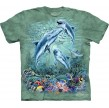 TEE SHIRT DAUPHINS TROUVEZ 12 DAUPHINS
