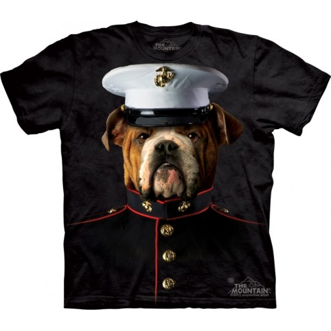 TEE SHIRT ENFANT BOULEDOGUE MARIN