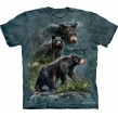 TEE SHIRT ENFANT OURS NOIRS