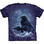 TEE SHIRT CORBEAU CELTIQUE