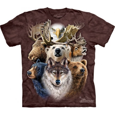 TEE SHIRT ANIMAUX DU GRAND NORD