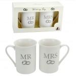 MUGS MARIAGE MR & MRS
