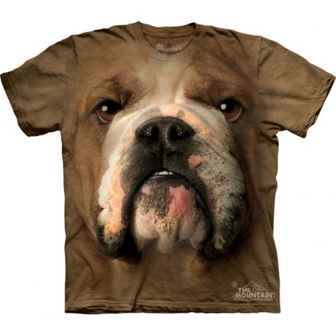 TEE SHIRT ENFANT BOULEDOGUE