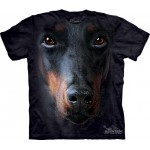 TEE SHIRT ENFANT DOBERMAN