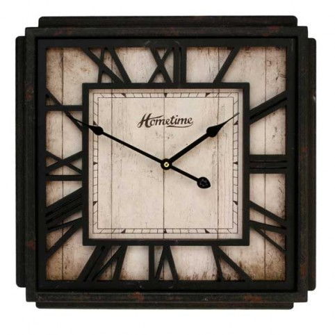 PENDULE ANTIQUE CARREE