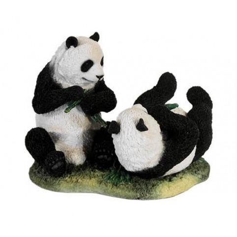 STATUETTE PANDAS GEANTS