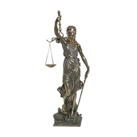 STATUE LA JUSTICE