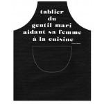 TABLIER DE CUISINE LE GENTIL MARI