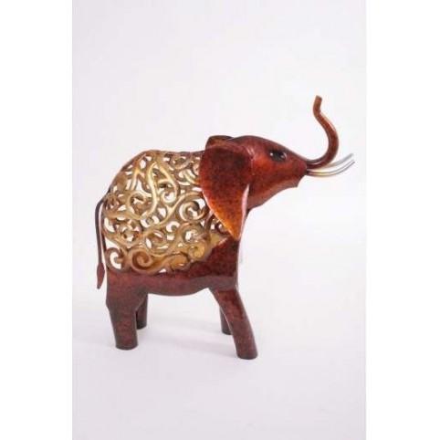 FIGURINE ELEPHANT HISTOIRE DE FER