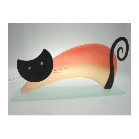 FIGURINE CHAT PONT DROIT
