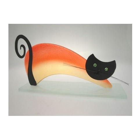 FIGURINE CHAT PONT GAUCHE
