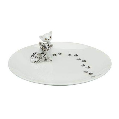 ASSIETTE ZEBRA  KITTY