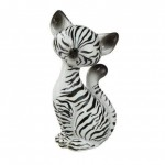 FIGURINE ZEBRA KITTY