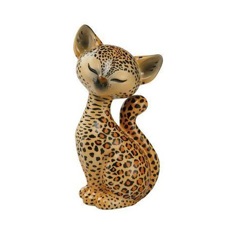 FIGURINE CHAT LEOPARD KITTY