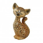 FIGURINE LEOPARD KITTY