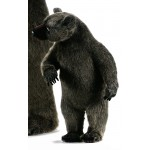 PELUCHE OURS GRIZZLY DRESSE 70 CM