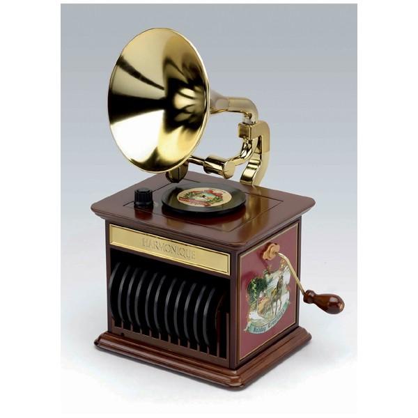 boite musique gramophone vente de bo te musique enfants et boules neiges musicales. Black Bedroom Furniture Sets. Home Design Ideas