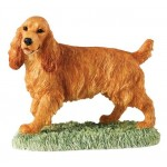 FIGURINE COCKER SPANIEL
