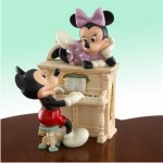 FIGURINE MICKEY ET MINNIE AU PIANO