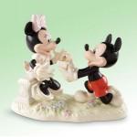 FIGURINE MICKEY ET MINNIE DEMANDE EN MARIAGE