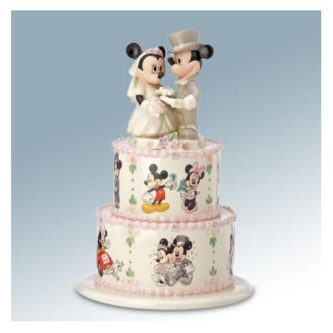 FIGURINE MICKEY ET MINNIE GATEAU DES MARIES