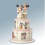 FIGURINE MICKEY ET MINNIE GATEAU DES MARIES