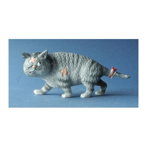 FIGURINE CHAT GROS MATOU