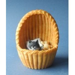 FIGURINE CHAT NID DOUILLET