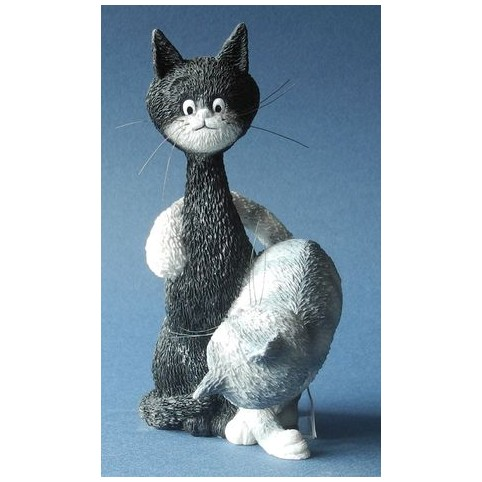 FIGURINE CHAT LA CHARMEUSE