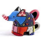 THEIERE ELEPHANT - ROMERO BRITTO