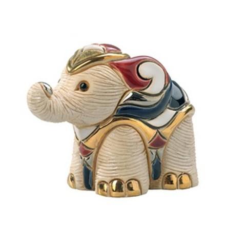 FIGURINE ELEPHANT BLANC