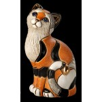 FIGURINE CHAT CALICO ORANGE