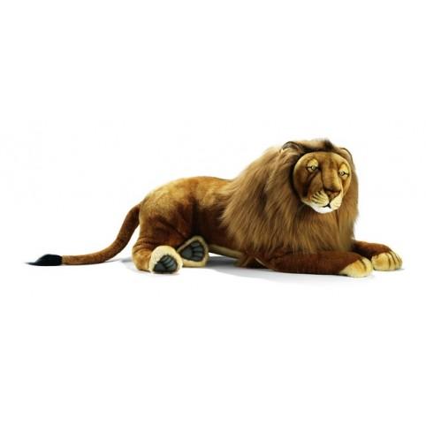 PELUCHE LION COUCHE