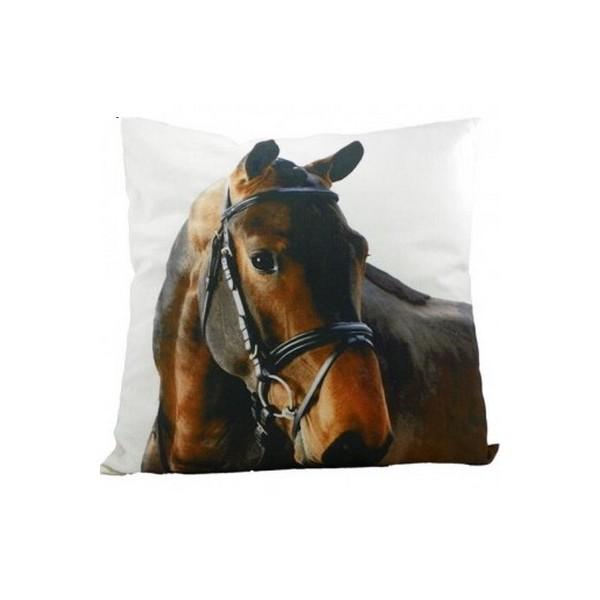 coussin cheval achat vente de coussins chevaux coussin animaux. Black Bedroom Furniture Sets. Home Design Ideas