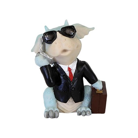 FIGURINE DRAGON RIGOLO AGENT SECRET