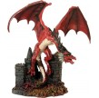 STATUETTE DRAGON ROUGE TOM WOOD