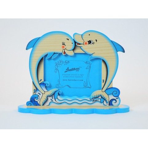 cadre photo enfant dauphins magic figurines vente en ligne de cadre photo enfants cadre. Black Bedroom Furniture Sets. Home Design Ideas