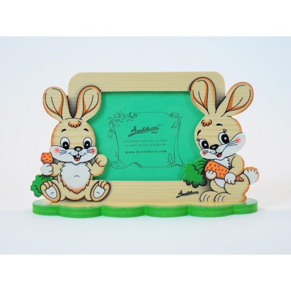 cadre photo enfant lapins magic figurines vente en ligne de cadre photo enfants cadre. Black Bedroom Furniture Sets. Home Design Ideas