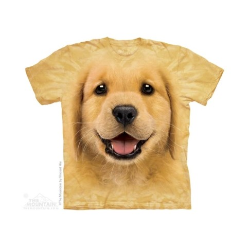 TEE SHIRT ENFANT GOLDEN RETRIEVER BEBE