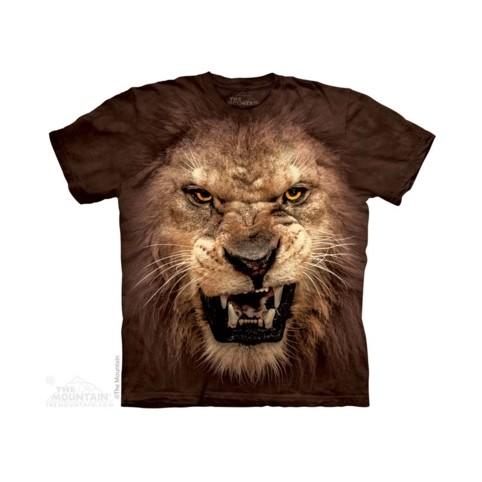 TEE SHIRT LION RUGISSANT