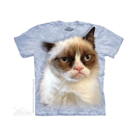 TEE SHIRT ENFANT CHAT GRINCHEUX