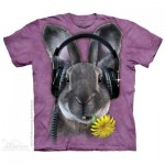 TEE SHIRT ENFANT LAPIN DJ HIPHOP