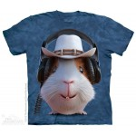 TEE SHIRT COCHON D'INDE COW BOY