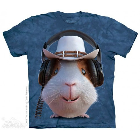 TEE SHIRT ENFANT COCHON D'INDE COW BOY