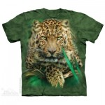 TEE SHIRT LEOPARD MAJESTUEUX