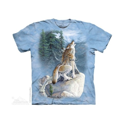 TEE SHIRT LOUP CHANTEUR