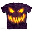 TEE SHIRT CITROUILLE D'HALLOWEEN