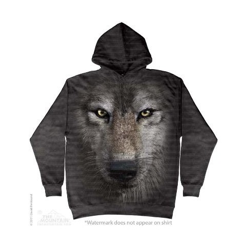SWEAT SHIRT  TETE DE LOUP
